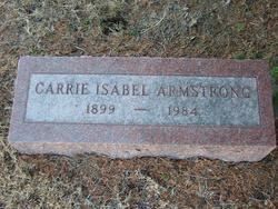 Carrie Isabel Armstrong