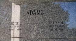 Chester L Adams