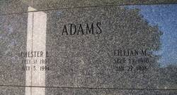 Lillian M Adams