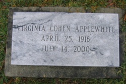 Virginia <i>Cohen</i> Applewhite