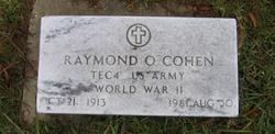 Raymond Odell Cohen, Sr