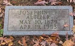 Josephine B Altizer