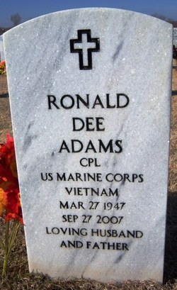 Ronald Dee Adams