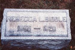 Mrs Rebecca L. <i>Lyons</i> Biddle