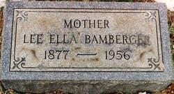 Lee Ella <i>Harned</i> Bamberger