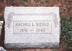 Rachel Leonora Biddle