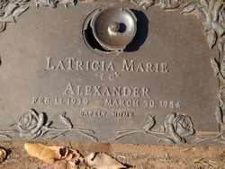 LaTricia Marie T. C. Alexander