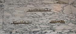 Johanna Mary Jenny <i>Rensing</i> Buchholz