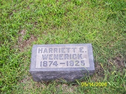 Harriett Elizabeth <i>Wittle</i> Wenerick