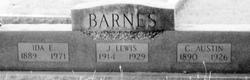 Ida Elizabeth <i>Benton</i> Barnes