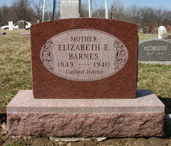 Elizabeth Emily <i>Rynard</i> Barnes