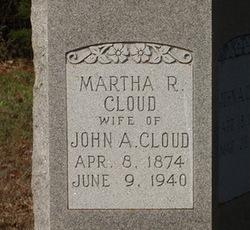 Martha Rachel <i>Adams</i> Cloud