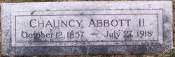 Chauncy Abbott, II