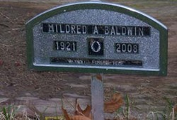 Mildred A <i>Overly</i> Baldwin