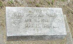 Mary Magdalene Sister Baker <i>Roberson</i> Baker