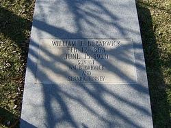 William Ezekiel Benjamin Barwick