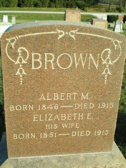 Albert M Brown