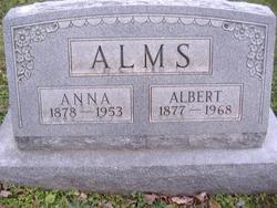 Anna <i>Schrader</i> Alms
