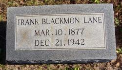 Francis Blackmon Frank Lane