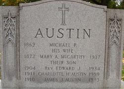 Mary A <i>McCarthy</i> Austin