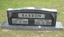 Clyda Mae <i>Johnson</i> Barron
