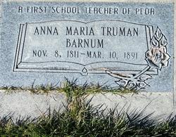 Annie Marie <i>Truman</i> Barnum