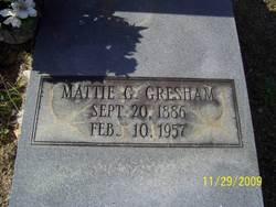 Mattie G Gresham