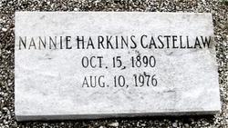 Nannie <i>Harkin</i> Castellaw