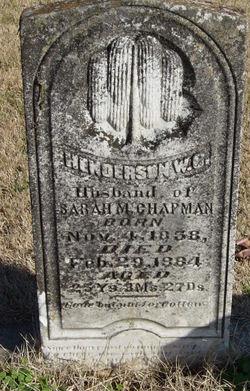 Henderson W. C. Chapman