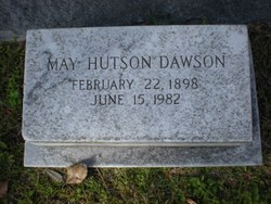 May <i>Hutson</i> Dawson