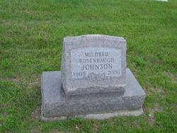 Mildred <i>Rosenbaugh</i> Johnson