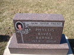 Phyllis <i>Rives</i> Barnes