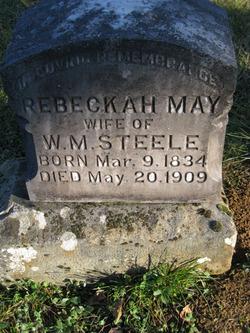 Rebeckah Shinn <i>Parrish</i> Steele