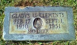 Gladys <i>Underwood</i> Clements