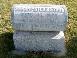 Sarah Louisa <i>Peters</i> Stohl