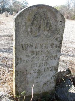William Ake, Sr
