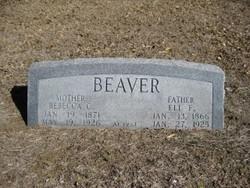 Rebecca Caroline <i>Terry</i> Beaver