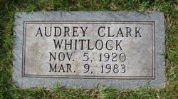 Audrey <i>Clark</i> Whitlock
