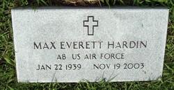 Max Everett Hardin