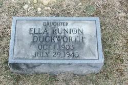 Ella <i>Runion</i> Duckworth