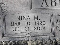 Nina M Abbott