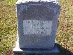 Monteria F. <i>Stanley</i> Callaway
