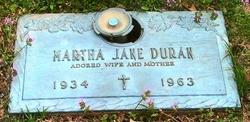 Martha Jane <i>Lucas</i> Duran