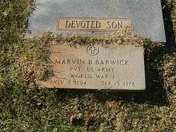 Marvin Benjamin Barwick