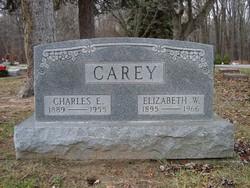 Elizabeth W <i>MacIntosh</i> Carey