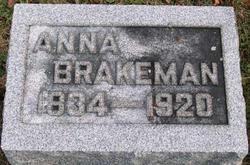 Anna Brakeman