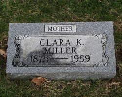 Clara <i>Kramer</i> Miller
