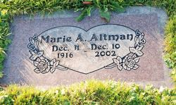 Marie A Altman
