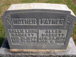 Sallie Elvira <i>Long</i> Baggett