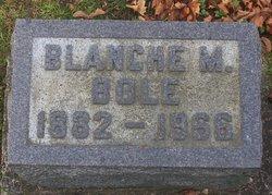 Blanche Mae <i>Amidon</i> Bole